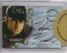 Buffy Season 6 Autograph Card A32 Adam Busch