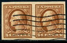 U. S. Scott #346 (Pair) (Extra Fine Centering) Used SCV:$60.00 (i)