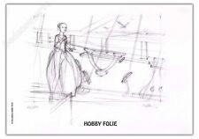 Ex-libris PELLERIN  Hobby Folie L'épervier 180ex signé A4