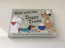 MAKE YOUR OWN DOGGY TREATS SET GIFT/BIRTHDAYS/CHRISTMAS/KIDS/FUN/BAKING/BISCUITS