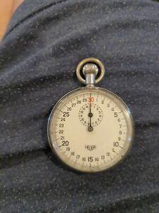 Vintage Heuer Wind-up stopwatch