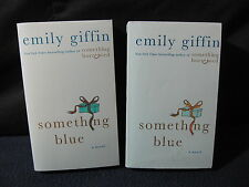 Emily Giffin: Something Blue-Set of 2-Great for Book Club!-Incl. Shipping!!