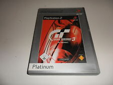 PlayStation 2 PS 2 gran turismo 3: a-Spec (Platinum)