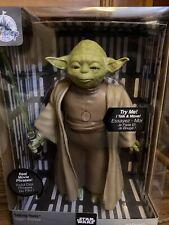 Disney Store Yoda Talking Figure - 9'' - Star Wars New with Box