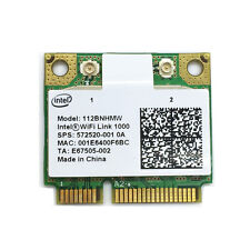Intel Centrino Wireless-N 1000 b/g/n 112BNHMW 300Mbps Half Wireless Mini Card