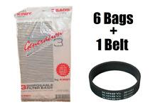 6 Genuine Kirby Vacuum Bags & Belt G3 G4 G5 G6 G7 Sentria Bag