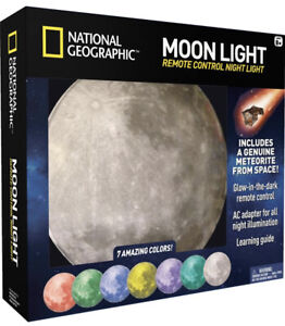 ✅🆕National Geographic MoonLight Romote Control Night Light Multi Color
