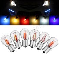 1/2/4/8x 1156 BAU15S PY21W 4 Led Auto Birne Lampe Rücklicht Bremslicht
