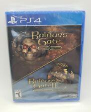 Baldur's Gate - Enhanced Edition PS4 (Sony PlayStation 4, 2019) NEW