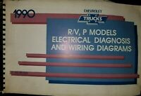 1990 Chevrolet R V P Truck Wiring Diagrams Service Manual