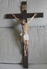 Gekreuzigten Christus - Schnitzen mit polychromen