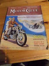 Motor Cycle/Show Report/Cyclemotors/Sun/Norton 88/Oscar/Indian/Dot/AJS/AC/BSA/