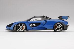 TOP SPEED TS0248 - 1/18 MCLAREN SENNA ANTARES BLUE (RESIN)