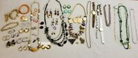 Vtg Lot Estate JEWELRY Necklace Bracelet Earring Disney Mickey Watch Brooch