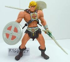 MOTU, He-Man, Iron Cross, 200x, complete, figure, Masters of the Universe, 100%