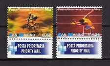 15007) SAN MARINO 2002 MNH** Nuovi** - Sport Priority Mail 2v
