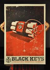 The Black Keys Poster Lars Krause S/N Rare Eindoven print