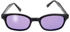 auténtica gafas de sol KD'S purple morado 21216 - compatible casco moto moteros