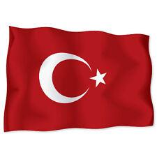 """TURKEY Flag car bumper sticker decal 6"""" x 4"""""""