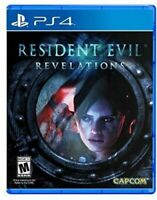 PLAYSTATION 4 - RESIDENT EVIL REVELATIONS BRAND NEW SEALED GAME