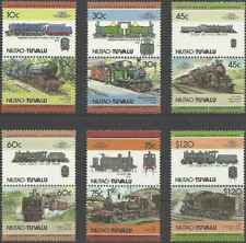 Timbres Trains Niutao Tuvalu 2 ** lot 24882