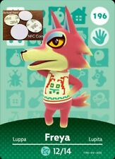 Freya NFC Tag/Coin Amiibo Card Animal Crossing New Horizons! Free Shipping!