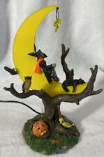 Lemax Spooky Town ~ WITCH'S R & R ~ Illuminated Halloween Accessory Accent
