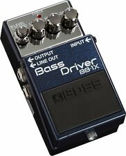 New BOSS BB-1X Bass Driver Bass Guitar Effects Pedal From Japan
