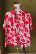Millers Floral Short Sleeve Button Down Shirt Women's Tops & Blouses