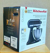NEW! SEALED KitchenAid Classic Series 4.5Qt Tilt-Head Black Stand Mixer K45SSOB