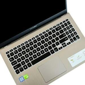 """Leze - Ultra Thin Keyboard Cover for 15.6"""" ASUS VivoBook S15 S530UA Slim and Por"""