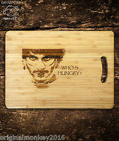 HANNIBAL CHOPPING BOARD BIRTHDAY GIFT FOR HIM. GIFT FOR HER. HOUSE WARMING GIFT