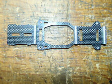 X-CELL FURION 450 CARBON FIBRE LOWER FRAME SECTION