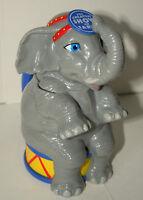 Ringling Brothers Barnum & Bailey Circus Elephant Plastic Mug Cup Box New NOS