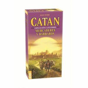 Catan Mercaderes y Bárbaros Ampliación 5-6 Jugadores - Juego de Mesa
