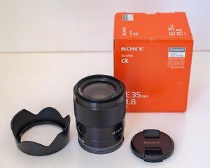 Sony FE 35 mm f/1.8 Standard Camera Lens