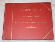 PORTFOLIO of PHOTOGRAPHS-Cities,Landscapes & Famous Paintings-John L Stoddard