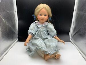 Pamela Erff Künstlerpuppe Porzellan Puppe 50 cm. Top Zustand