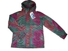 Roxy snowboard veste taille xl 42 44 Noir Coloré veste d'hiver veste NEUF