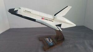Space Shuttle model * Columbia * Radio Shack REDUCED 🤗