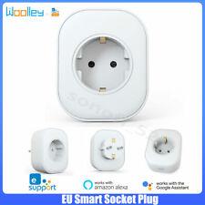 Enchufe WIFI inteligente EU 16A Monitor energía APP Control remoto Alexa Google