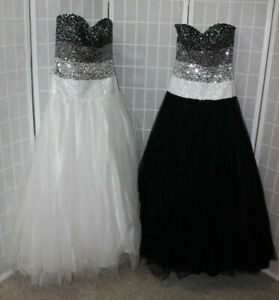 NEW! Lot of TWO ball gowns for Bridesmaids, Twins, performances, Size 6 & 10