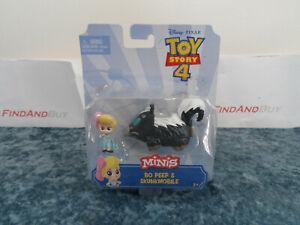 Disney Pixar Toy Story 4 Minis Bo Peep & Skunkmobile - NEW
