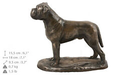 Urna crematoria / Ataúd Bullmastiff CONMEMORATIVO para de perro cenizas, con
