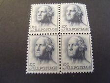 US Postage Stamp 1962 George Washington Scott 1213 4-5c
