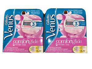 Gillette Venus Comfort Glide 8 Count Cartridges - (6 White Tea +2 Olay Total)