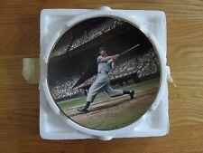 "1993 Legend JOE DIMAGGIO New York Yankees BRADFORD EXCHANGE 8"" Plate THE STREAK"