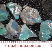 Seam Opal from Lightning Ridge Black Opal Country, Opal Rough Parcel - Ro2037