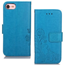 Floral Pattern Wallet PU Leather Magnetic Flip Stand Case For iPhone 6 6s 7 Plus