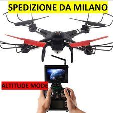 RC QUADRICOTTERO - DRONE  Wltoys Q222G FPV ALTITUDE MODE con Telecamera HD